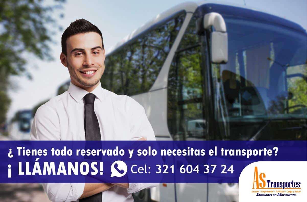 ¿Tienes todo reservado y solo necesitas Transporte?