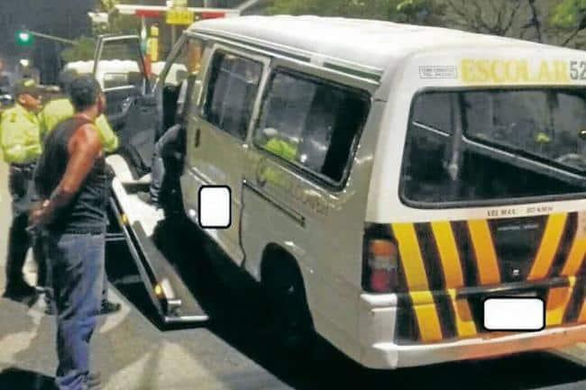 Detectan irregularidades en servicio de transporte escolar de Bucaramanga