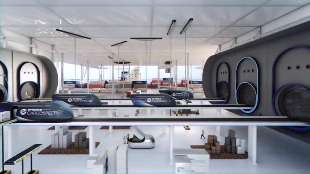 Richard Branson lanza su Hyperloop del transporte de mercancías, una empresa conjunta en Emiratos Árabes