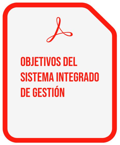 OBETIVOS DEL SISTEMA INTEGRADO