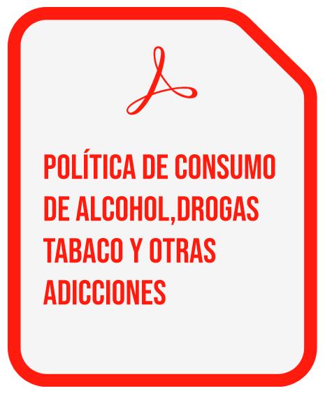 POLITICA CONSUMO DE ALCOHOL
