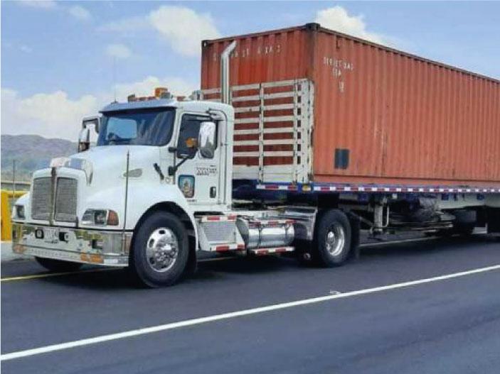 transporte de carga sustancias peligrosas